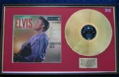 Elvis Presley - 24 Carat Gold Disc and Cover - Rock 'n' Roll No 2